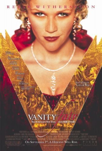VANITY FAIR ORIG MOVIE POSTER  27X40 DOUBLE SIDED