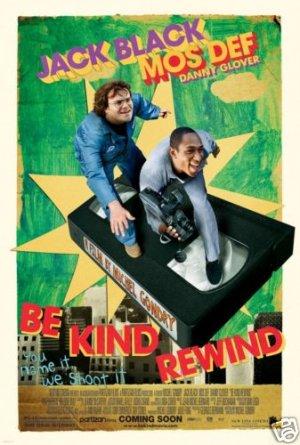 BE KIND REWIND ORIG  Movie Poster 27 X40