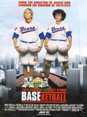 BASEKETBALL ORIG  Movie Poster 27 X40 DBL SIDED