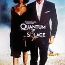 QUANTUM OF SOLACE Movie Poster ORIG BLUE STYLE DS