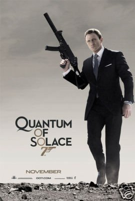 QUANTUM OF SOLACE 2ND ADV ORIG Movie Poster  27X40 DS