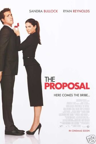 PROPOSAL ORIG MOVIE POSTER DBL SIDED 27 X40