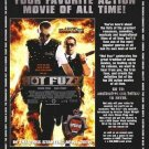 HOT FUZZ (CRITICS)ORIG MOVIE Poster  27 X40 DS