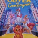 OLIVER & COMPANY FRENH VERSION ORIG MOVIE POSTER  27X40