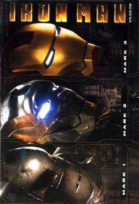 Iron Man  2ND Advance B Original Movie Poster Single Sided 14x20