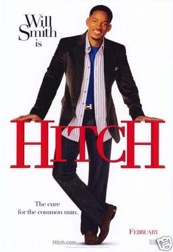 Hitch Original Movie Poster Single Sided 27x40
