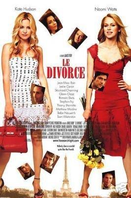 LE DIVORCE REG DBL SIDED ORIG Movie Poster 27X40