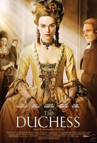 DUCHESS ORIG Movie Poster DOUBLE SIDED 27 X40