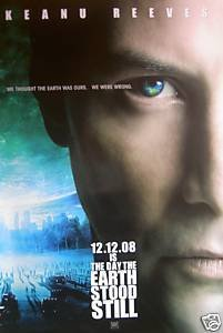 DAY THE EARTH STOOD STILL REG ORIG Movie Poster DS