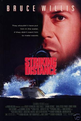 STRIKING DISTANCE 27 X40 MOVIE Poster ORIG