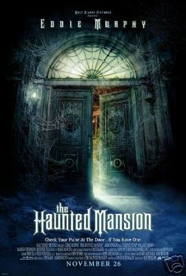 HAUNTED MANSION DOUBLE SIDED 27 X40 MOVIE Poster ORIG