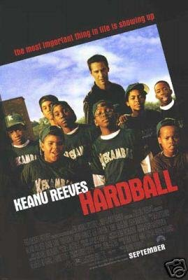 HARDBALL DOUBLE SIDED MOVIE Poster ORIG 27 X40