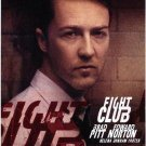 Fight Club ( E. Norton) Original Movie Poster Single Sided 27 X40