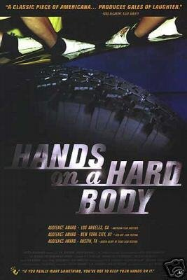 HANDS ON A HARD BODY MOVIE Poster ORIG 27 X40
