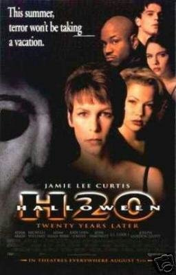 HALLOWEEN H20 MOVIE Poster ORIG 27 X40