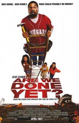 ARE WE DONE YET ORIG  Movie Poster  27 X40 DBL SIDED