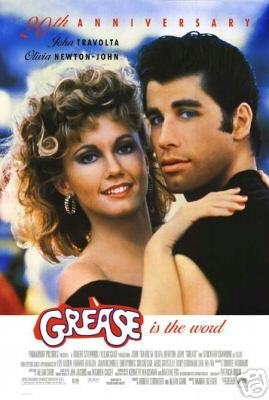 GREASE RE-RELEASE 1998 MOVIE Poster ORIG 27 X40