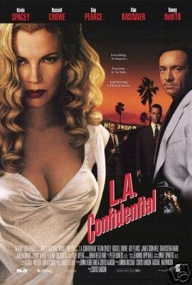 L.A. CONFIDENTIAL VIDEO ORIG Movie Poster 27x40