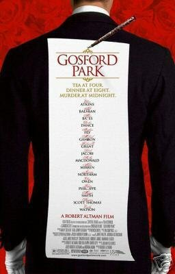 GOSFORD PARK MOVIE Poster ORIG 27 X40 DS