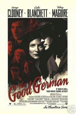 GOOD GERMAN DOUBLE SIDED MOVIE Poster ORIG 27 X40