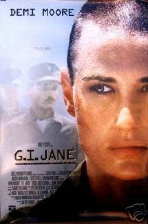 G.I. JANE  MOVIE Poster ORIG 27 X40 DS