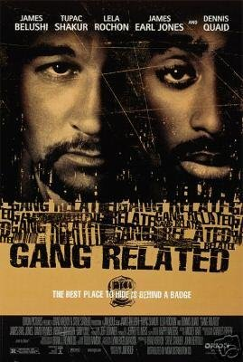 GANG RELATED MOVIE Poster ORIG 27 X40