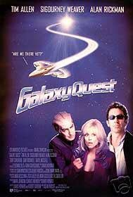 GALAXY QUEST  MOVIE Poster ORIG 27 X40