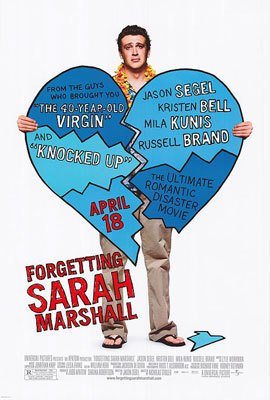 FORGETTING SARAH MARSHALL   MOVIE Poster ORIG 27 X40 DS