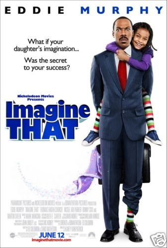 Imagine That Original Movie Poster Double Sided 27 X40
