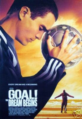 Goal Original Movie Poster Double Sided 27x40