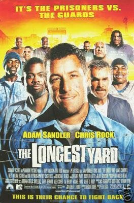 Longest Yard  International Original Movie Poster Double Sided 27x40
