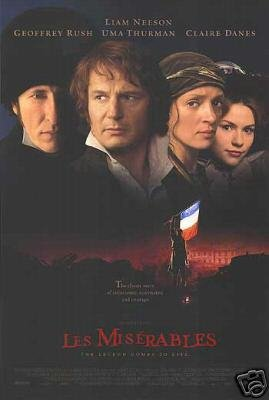 Les Miserables Regular Original Movie Poster Double Sided 27 X40