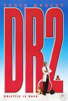 DR DOLITTLE 2 DBL SIDED  MOVIE Poster ORIG 27 X40