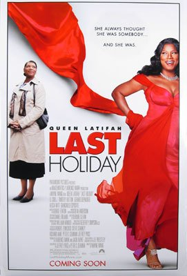 Last Holiday Original Movie Poster Double Sided 27 X40