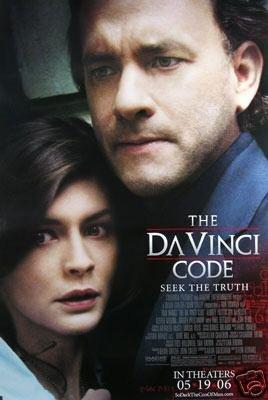 Da Vinci Regular Code Original Movie Poster Single Sided 27x40
