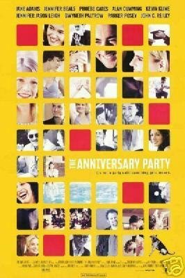 Anniversary Party Original Movie Poster Single Sided 27 X40