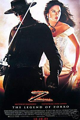 Legend Of Zorro Regular Original Movie Poster Double Sided 27x40