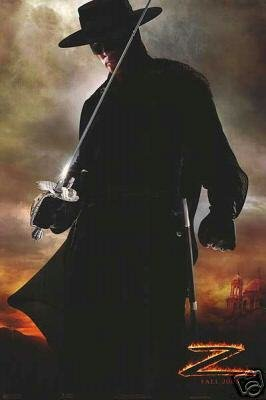 Legend Of Zorro (Banderas) Original Movie Poster Single Sided 27x40