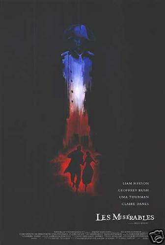 Les Miserables Advance Original Movie Poster Double Sided 27 X40