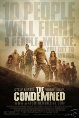 Condemned Original Movie Poster Single Sided 27 X40