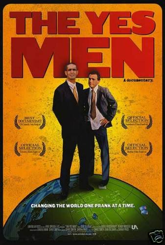 Yes Men Original Movie Poster 27 X40 Single Sided