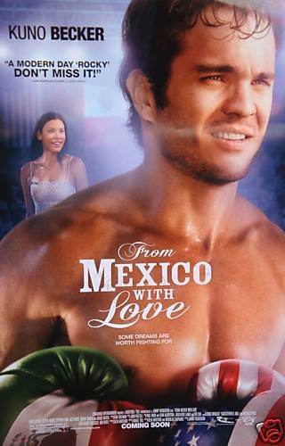 From Mexico With Love Original Movie Poster Double Sided 27 X40
