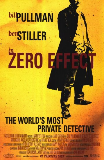 Zero Effect Original Movie Poster 27 X40 Single Sided