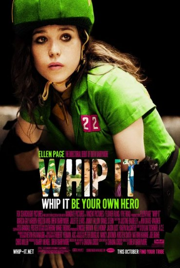 Whip It Original Movie Poster 27 X40 Single Sided