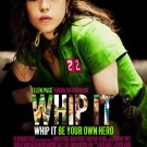 Whip It Original Movie Poster 27 X40 Double Sided