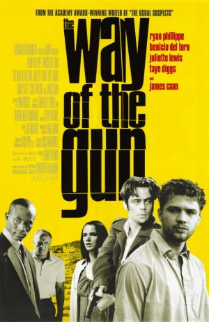 Way of the Gun Original Movie Poster 27 X40 Single Sided