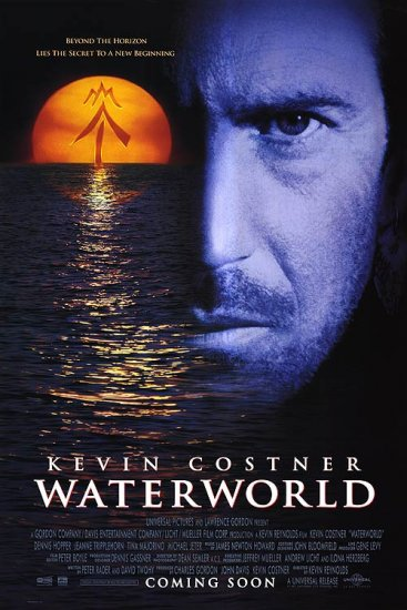 Waterworld Original Movie Poster 27 X40 Double Sided