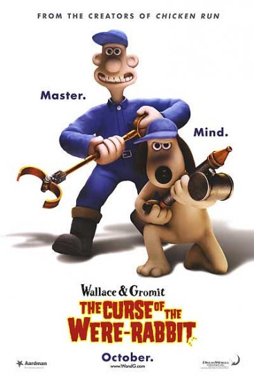 Wallace & Gromit Advance A Original Movie Poster 27 X40 Double Sided