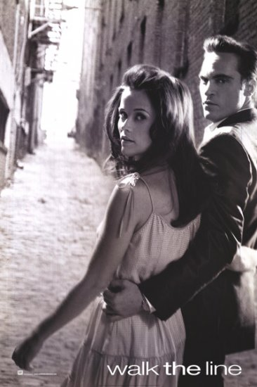 Walk the Line Advance B Orig Movie Poster 27x40 Double Sided