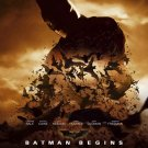 Batman Begins Version C Original Movie Poster Double Sided 27x40